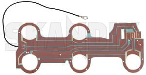 Leiterbahn für Rückleuchte 1392203 (1075075) - Volvo 700 - 700 700er 760 760er 764 765 7er leiterbahn fuer rueckleuchte leiterbahnplatte limousine platine sedan stufenheck Original fuer linke linker links linksseitig rueckleuchte seite