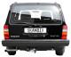 Volvo 200: rear