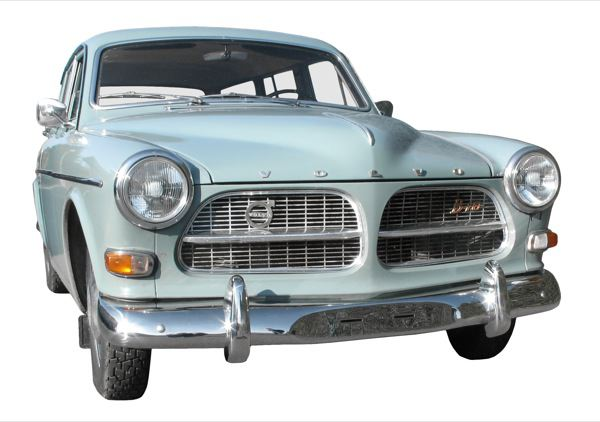 Volvo 120 130: front