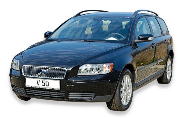 Volvo V50: front, side