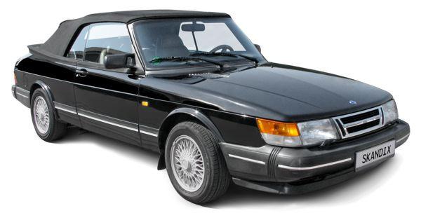 Saab 900 (-1993): front, side