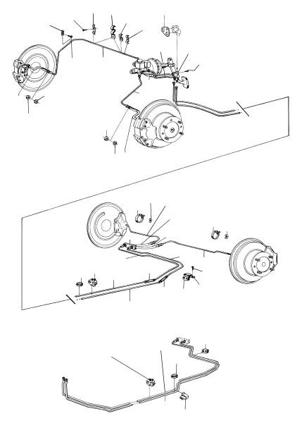 Saab 99: Brake system
