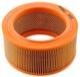 Air filter round Single carburettor 681437 (1000017) - Volvo 120 130 220, 140, 200