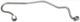 High-pressure Line, diesel injection system 1257151 (1000070) - Volvo 200, 700, 900