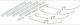 Montagesatz, Bremsbelag Vorderachse belüftet System Girling 272691 (1000247) - Volvo 200