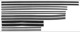 Window channel guide Kit for both sides  (1000301) - Volvo 120 130