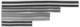 Window channel guide Kit for both sides  (1000308) - Volvo 120 130