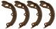 Bremsbackensatz, Handbremse 30666323 (1000770) - Volvo 140, 164, P1800, P1800ES