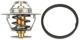Thermostat, Kühlmittel 87 °C 273458 (1000917) - Volvo 120 130 220, 140, 164, 200, P1800, P1800ES, PV P210