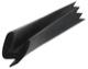 Seal, Bonnet rear 672146 (1001318) - Volvo P1800, P1800ES
