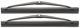 Wischerblatt, Scheinwerferreinigung Satz für beide Seiten 274431 (1002939) - Volvo 300, 700, 900, S80 (-2006), S90 V90 (-1998)