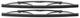 Wischerblatt, Scheinwerferreinigung Satz für beide Seiten 274434 (1002972) - Volvo 200