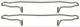 Montagesatz, Bremsbelag Vorderachse Innenbelüftet 3546381 (1003080) - Volvo 850, C70 (-2005), S70 V70 (-2000), V70 XC (-2000)
