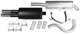 Sports silencer set from Catalytic converter  (1003850) - Volvo 700, 900
