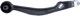 Strut, Control arm front axle left 4544995 (1005556) - Saab 900 (1994-)