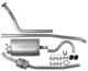 Abgasanlage ab Krümmer  (1005761) - Volvo 120 130