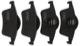 Bremsbelagsatz Hinterachse 30648382 (1006111) - Volvo S60 (-2009), S70, S80 (-2006), V70 (-2000), V70 P26, V70 XC (-2000), XC70 (2001-2007)
