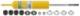Stoßdämpfer Vorderachse Gasdruck B6 Sport