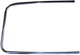 Trim moulding, Glas Windscreen right chromed 654385 (1008189) - Volvo 120 130 220