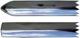 Zierleiste, Seitenwand hinten für links und rechts passend 662656 (1008276) - Volvo 220