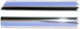 Drip rail moulding right front Section 659995 (1008298) - Volvo 120 130 220