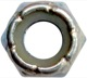 Lock nut with plastic-insert with UNC inch Thread 5/16
