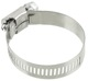 Hose clamp 27 mm 51 mm stainless