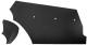 Interior panel Trunk black Kit 671067 (1010253) - Volvo 120 130