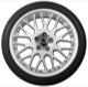 Wheel Center Cap black for Genuine Light alloy rims Piece