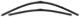 Wiper blade for Windscreen Flat Kit for both sides 32237896 (1011462) - Volvo S40 (2004-), V50