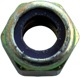 Lock nut with plastic-insert with UNF inch Thread 1/4