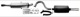 Sports silencer set from Catalytic converter  (1013166) - Volvo 700, 900