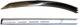 Zierleiste, Seitenwand oben hinten links 669631 (1014076) - Volvo P1800, P1800ES