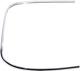 Zierleiste, Verglasung Heckscheibe links verchromt 669328 (1014078) - Volvo P1800