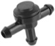 Valve, Cleaning water system for Windscreen 31391513 (1014091) - Volvo C30, C70 (2006-), C70 (-2005), S40 V50 (2004-), S70 V70 (-2000), S80 (2007-), S80 (-2006), V70 (2008-), V70 XC (-2000), XC70 (2008-), XC90 (-2014)