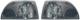 Styling-Blinkleuchte vorne Satz für beide Seiten  (1015138) - Volvo C70 (-2005), S70 V70 (-2000), V70 XC (-2000)