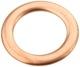 Seal ring, Oil drain plug 30725034 (1015622) - Volvo C30, C70 (2006-), S40 V50 (2004-), S80 (2007-), V70 (2008-)