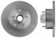 Bremsscheibe Vorderachse massiv 666525 (1017348) - Volvo 120 130, 220, P1800, P445, PV, PV P210