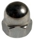 Screw/ Bolt Cap nut Outer hexagon M8  (1017376) - universal