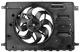 Electrical radiator fan single 31686806 (1017681) - Volvo S60, V60, S60XC, V60XC (2011-2018), S80 (2007-), V70 XC70 (2008-), XC60 (-2017)