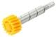 Pinion, Tachometer yellow 16 Teeth 380164 (1018476) - Volvo 120 130 220, 140, P1800, P210, PV