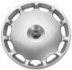 Radkappe silber 16 Zoll für Stahlfelgen Stück 31201866 (1018510) - Volvo C70 (-2005), S60 (-2009), S70 V70 (-2000), S80 (-2006), S90 V90 (-1998), V70 P26, V70 XC (-2000), XC70 (2001-2007)