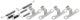 Zubehörsatz, Handbremsbacken  (1018835) - Volvo 140, 164, P1800, P1800ES