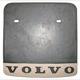 Mud flap rear right 1211466 (1018988) - Volvo P1800, P1800ES