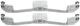 Montagesatz, Bremsbelag Vorderachse Innenbelüftet  (1019073) - Volvo S60 (-2009), V70 P26, XC90 (-2014)