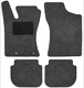 Floor accessory mats Needle felt black-grey  (1019099) - Volvo 400