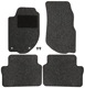 Floor accessory mats Needle felt black-grey  (1019102) - Volvo 700, 900, S90 V90 (-1998)