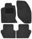 Floor accessory mats Needle felt black-grey  (1019107) - Volvo 850, S70 V70 V70XC (-2000)