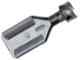 Stecker Flachsteckhülse 9,5 mm  (1019176) - universal