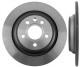 Bremsscheibe Hinterachse massiv 31471746 (1019623) - Volvo S60 (2011-2018), S60 XC (-2018), S80 (2007-), V60 (2011-2018), V60 XC (-18), V70 XC70 (2008-)